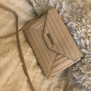 Beige Nine West Crossbody